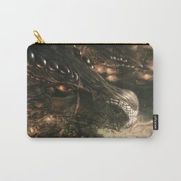 Little Girl and Her Dragon Carry-All Pouch