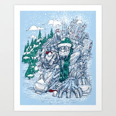 The Snowmaker Art Print