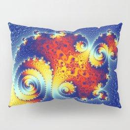 Fire in the Stars Mandelbrot Fractal Pillow Sham