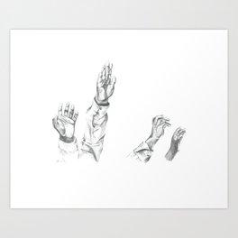 Praises Art Print