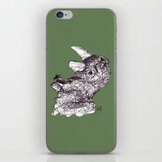 Reginald Rhinoceros iPhone & iPod Skin