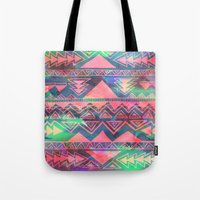 techno Tote Bags featuring Techno Native by Schatzi Brown
