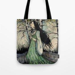 Malachite Maid Tote Bag