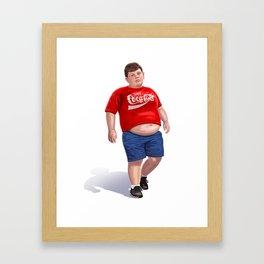 Enjoy Coke Framed Art Print