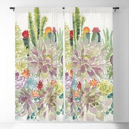 Succulents Blackout Curtain
