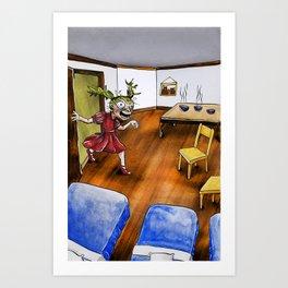Home Security? Art Print