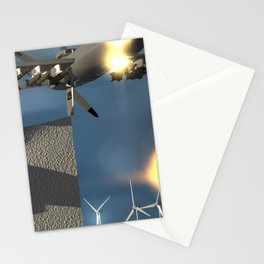 Fly: Fire Fly Stationery Cards
