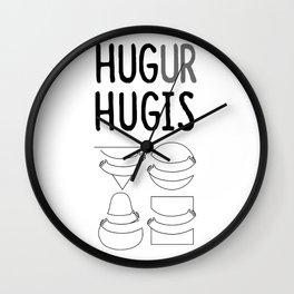 Hug Ur Hugis (Shape) Wall Clock