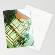 Colorful house. Stationery Cards