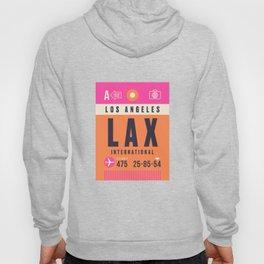 Luggage Tag A - LAX Los Angeles Hoody