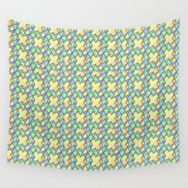 Rectilinear Pastel Wall Tapestry