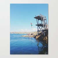 forever young Canvas Prints featuring Forever Young by Johanna Lejon