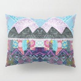 Purple Majesty Mountain Kaleidoscope Pillow Sham