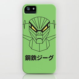 Kotetsu Jeeg (Steel Jeeg) - Outline version iPhone Case