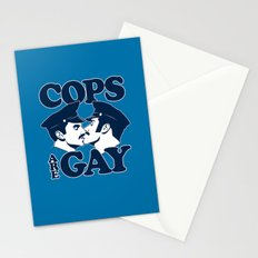 Cops are Gay Stationery Cards