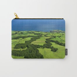 Typical Azores landscape Carry-All Pouch