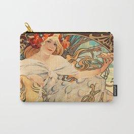 Affiche gaufrettes vanille - Alphonse Mucha 1900-1925 Carry-All Pouch