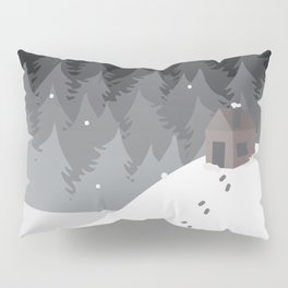 Winter's Night Pillow Sham