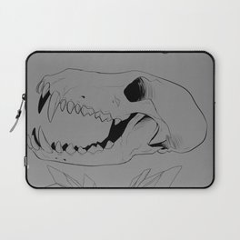Crystals and Skulls Laptop Sleeve