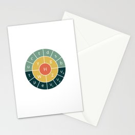 Standard Model Stationery Cards