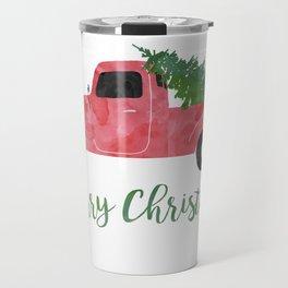 Christmas Tree Shopping Travel Mug