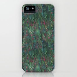 After Anawhata Jungle  Pattern iPhone Case