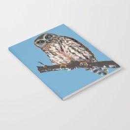 Mrs Ruru, New Zealand Morepork Owl Notebook