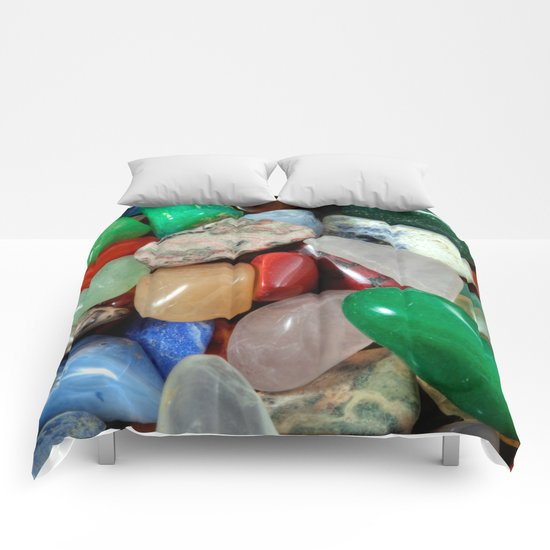 Colorful Stones Texture Comforters