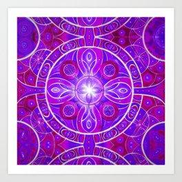 Mandala God Art Print