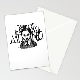 Killing You in My Mind Stationery Cards