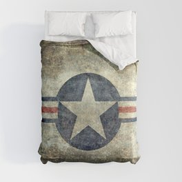 US Air force style insignia V2 Comforters