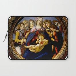 "Sandro Botticelli ""Madonna of the Pomegranate (Madonna della Melagrana)"" Laptop Sleeve"