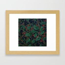 Blackberry Bonanza Framed Art Print
