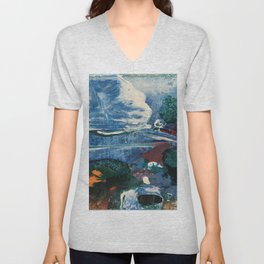 Mini World Environmental Blues 2 Unisex V-Neck