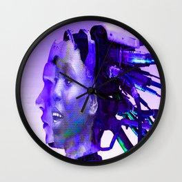 Cyborg Connection Wall Clock