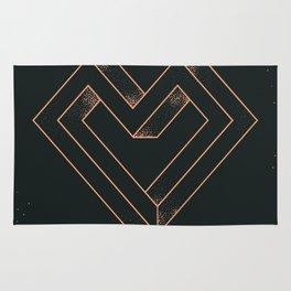 le coeur impossible (nº 6) Rug