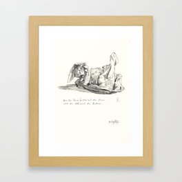 what do you see 5 Framed Art Print