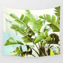 Banana Palms Wall Tapestry