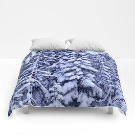 Snow Trees  Comforters