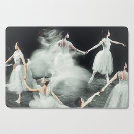Ghost Dance, Vintage Ballet Cutting Board
