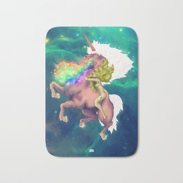 Gaga&Horse (The Galactic Tour of orgasms stellars from Unicorn) Bath Mat