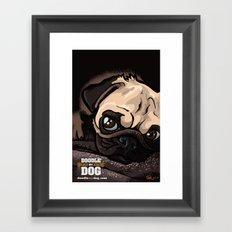 Miss Finn (Baby Pug) Framed Art Print