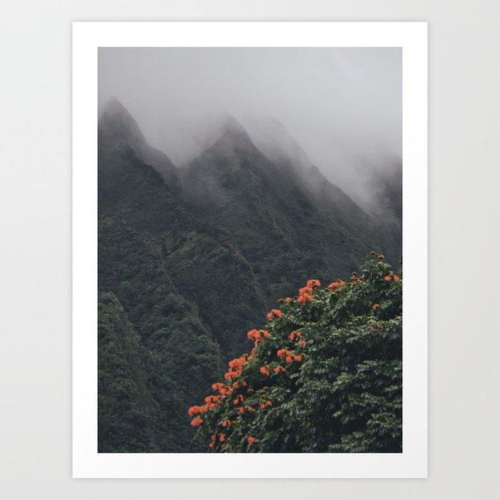 Beyond The Fog Art Print