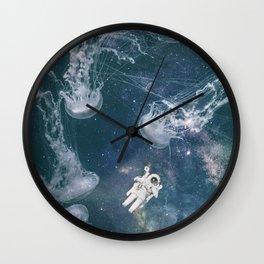 Lost on a Jellyfish Galaxy's Wall Clock