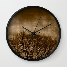 Lonesome Guardian Wall Clock