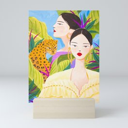 Garden Day Mini Art Print