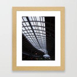 Paddington Roof Pattern Framed Art Print