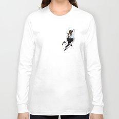 Jurassic Park Pin-ups ~ Ray Arnold Long Sleeve T-shirt