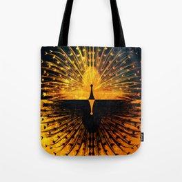 Peacock - Mad Men inspired Tote Bag