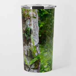 Plants on Trunk Travel Mug
